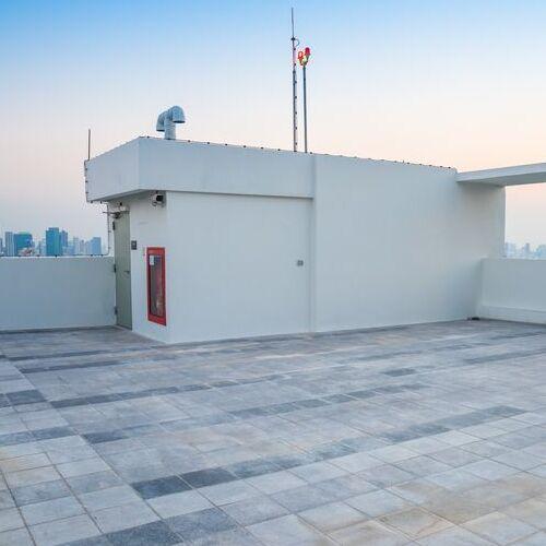 A Rooftop Pilot House.