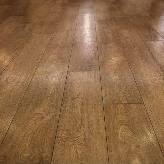 a shiny hardwood floor