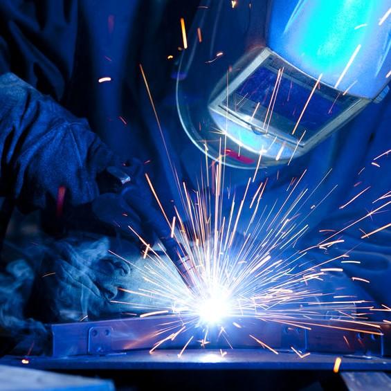 welder performing task
