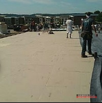 Commercial Roofing Being Installed