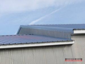 Metal Roof On Industrial Building