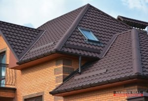 A Metal Roofing System Made to Look Like Tile
