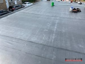Up Close of EPDM Roof